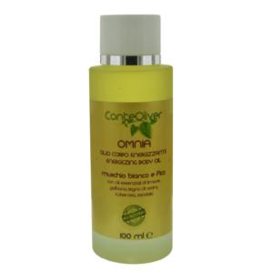 OMNIA 100 ml olio corpo energizzante con olio essenziali di limone, galbano, legno - sito