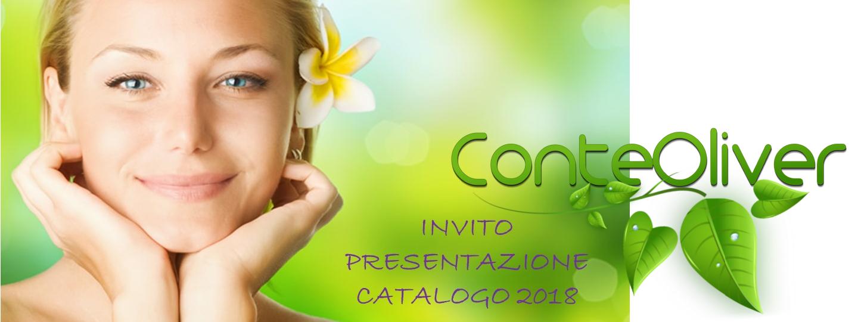 presentazione Conte Oliver catalogo 2018