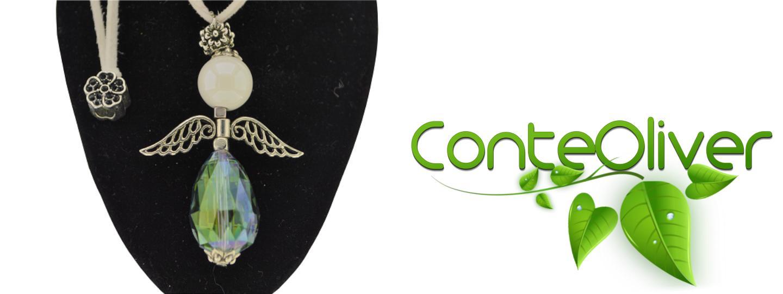 Promozione per la festa della mamma-in regalo un ciondolo in pietre vere della collezione degli Angeli di #FEFE