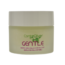 Crema Viso e Décolleté ideale per pelli delicate all'Olio di Rosa Mosqueta ed Olio di Crusca di Riso- GENTLE 30 ml