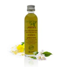 Olio per Massaggi Sensuali con Olio di Enothera ed Olio Fragrante di Gelsomino Sensuale ed Avvolgente – JASMINE 20 ml