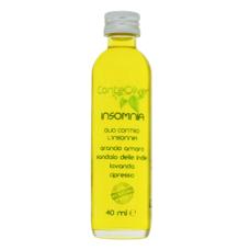 Olio da Massaggio contro l'insonnia con Oli Essenziali di Arancio Amaro e di Lavanda Vera – INSOMNIA 40 ml