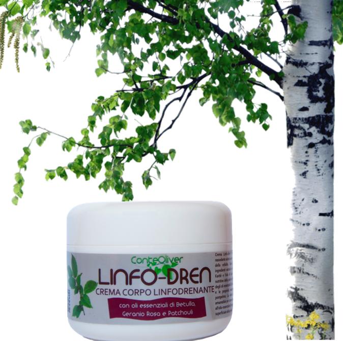 Crema Corpo Linfodrenante all'olio essenziale di Betulla